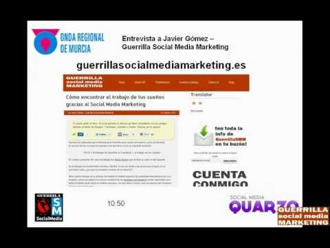 Entrevista A Javier Gomez – Guerrilla Social Media Marketing En Enreda2.0
