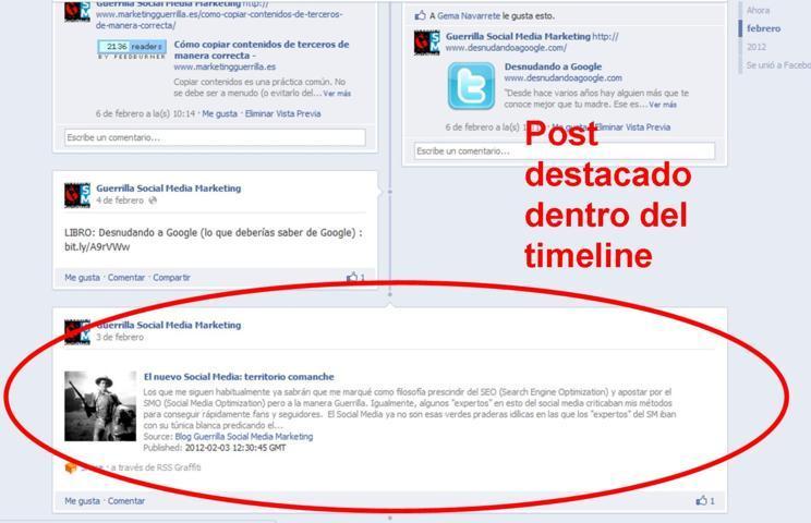 como conseguir fans con el nuevo timeline de facebook