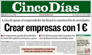 Derechos Diario Cinco Dias