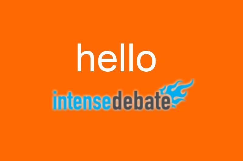 intenseDebate: conclusiones tras un mes de uso