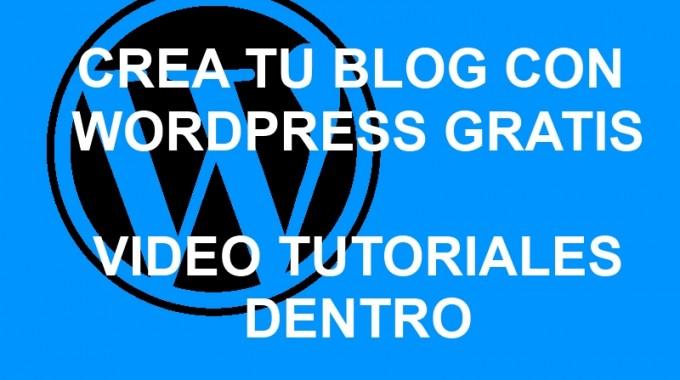 Videocurso: Crea Una Web O Blog Con WordPress GRATIS