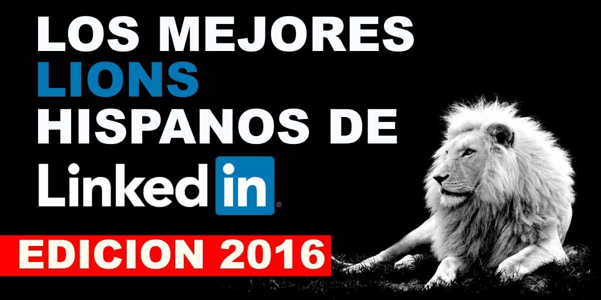 MEJORES LINKEDIN LIONS 2016